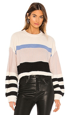 Playful Striped Sweater Sanctuary $99