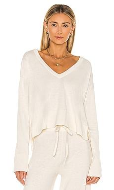 Essential V Neck Crop Sweater Sanctuary $57