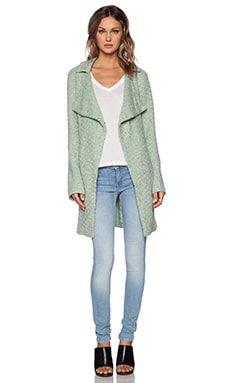 Sanctuary Aurora Sweater Coat in Winter Mint