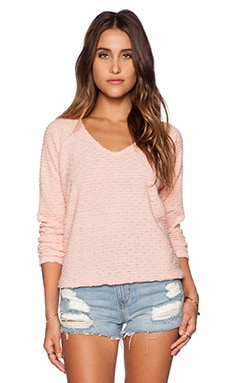 Sanctuary Beach Sweater in Silver Pink