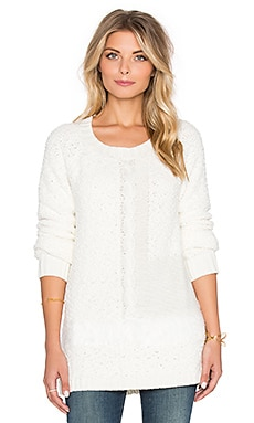 Sanctuary New Snuggle Sweater in Winter White