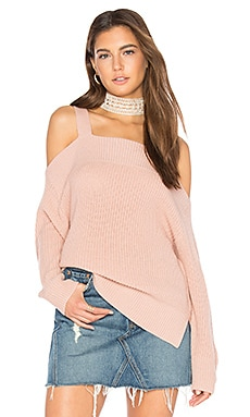 Amelie Sweater in Misty Rose
