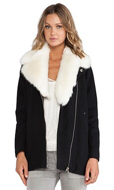 Sanctuary City Coat in Black