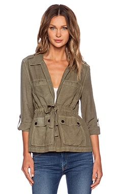 Sanctuary Day Drip Jacket in Brown Olive