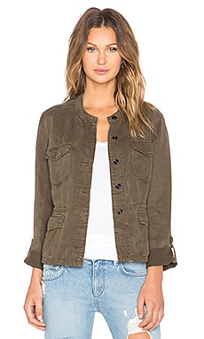 Sanctuary Sunset Safari Jacket in Brown Olive
