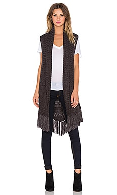 Sanctuary Folk Vest in Minx & Onyx