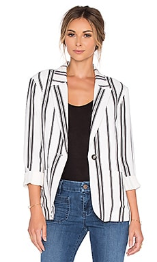 Sanctuary Boulevard Blazer in Freedom Stripe