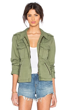 Habitat Military Jacket in Cactus
