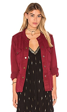 Sanctuary Marni Surplus Jacket in Boheme Red