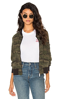 Bomber Jacket in Camo