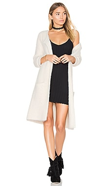 Super Soft City Coat en Blanc Hiver