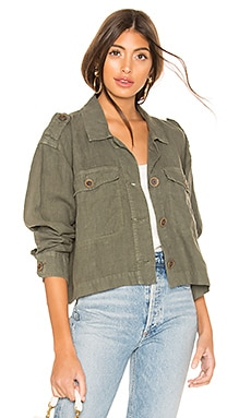With Honour Crop Surplus Jacket Sanctuary $75
