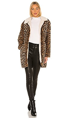Sierra Faux Fur Coat Sanctuary $269