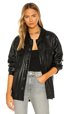 Leather Like Shacket Sanctuary $139