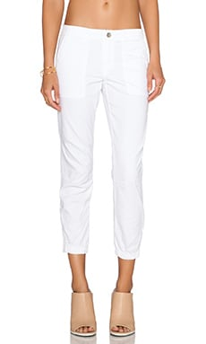 Peace Trooper Pant in White