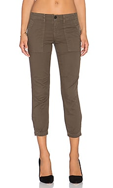 Sanctuary Peace Trooper Pant in Brown Olive