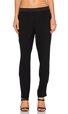 Sanctuary Essential City Track Pant in Black