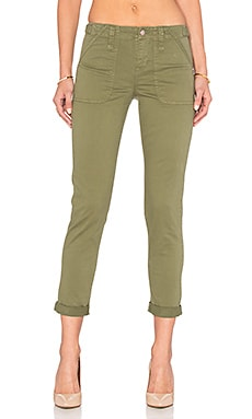Sanctuary Relaxed Traveler Pant in Cactus