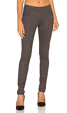 Sanctuary Grease Legging in Brick Harper Plaid