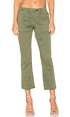 Peace Crop Pants in Cadet