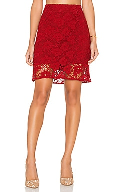 Sanctuary Hand Craft Skirt in Boheme Red