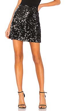 Ready For the Night Sequins Mini Skirt Sanctuary $61