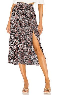 Hollyhock Midi Skirt Sanctuary $52