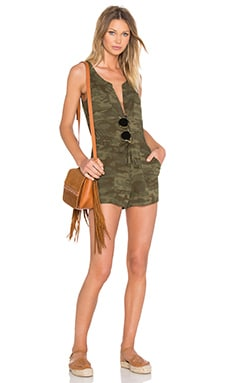 Hazel Romper in Mother Nature Camo