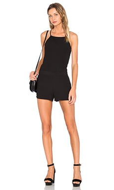 Sanctuary Lora Romper in Black