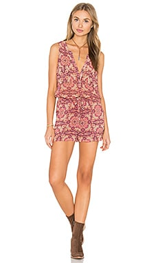 Hazel Romper in Sunset Boho