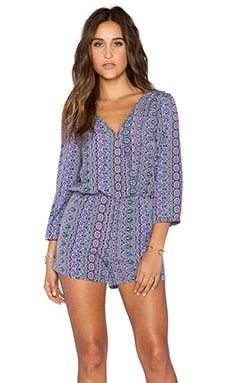 Sanctuary Sunset Playsuit in Moroccan Stripe