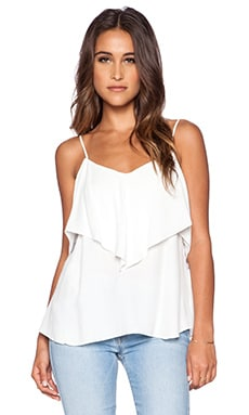 Sanctuary Flirt Top in White