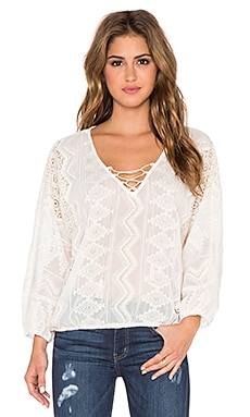Sanctuary Cheyenne Blouse in Moonrise