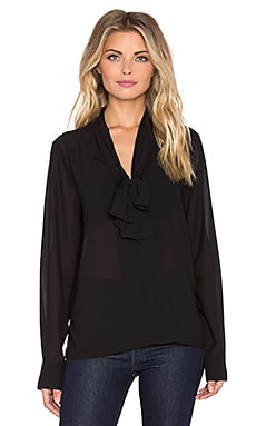 Sanctuary Essential Louisa Blouse in Black