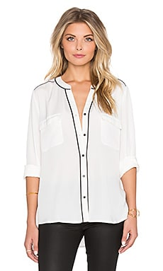Sanctuary The Essential Parisian Blouse in Winter White