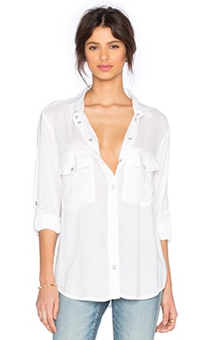 Sanctuary Boyfriend Shirt in White