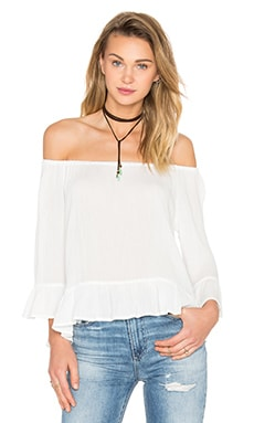 Julia Off Shoulder Top in White