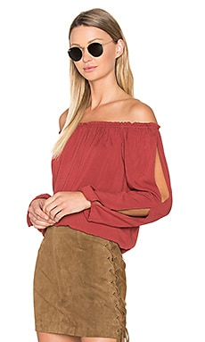 Chantel Blouse en Brooklyn Brick