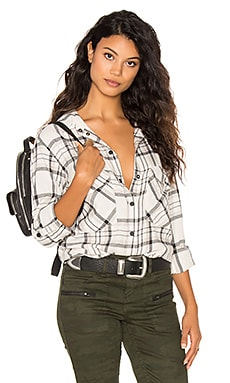 Sanctuary Boyfriend Shirt in Iver Plaid