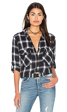 Boyfriend Shirt in Etienne Plaid