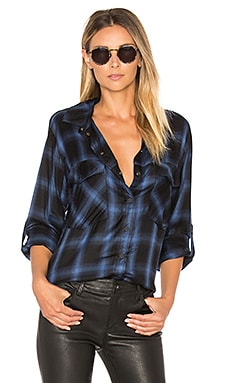 Boyfriend Shirt in Radiant Etienne Plaid