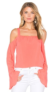 Melody Bare Shoulder Top in Gloss