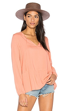 Lily Rose Blouse en Blush