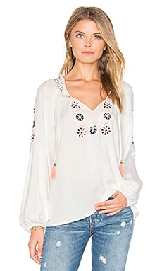 Freya Boho Blouse in Muslin