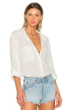 The Steady Boyfriend Shirt in White