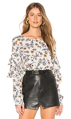 Tilly Flounce Sleeve Blouse Sanctuary $89 BEST SELLER