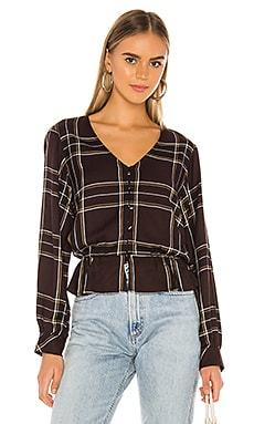 Jasper Button Front Blouse Sanctuary $27