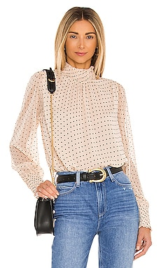 Carrie Smocked Top Sanctuary $99 NEW