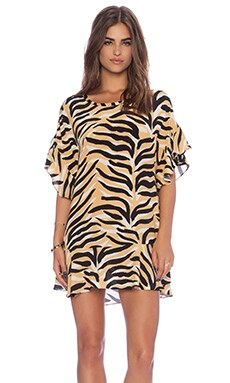 SAM&LAVI Floressa Dress in Tiger Lily
