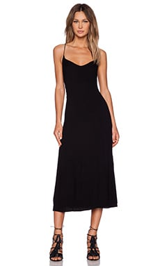 SAM&LAVI Nola Dress in Black Natural